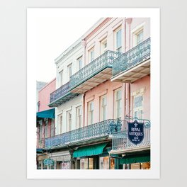 French Quarter, New Orleans Travel Photography Art Print