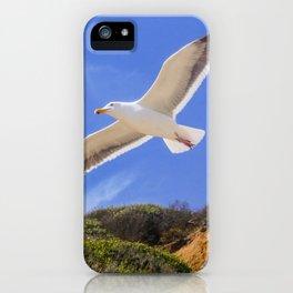 Golden Seagull iPhone Case