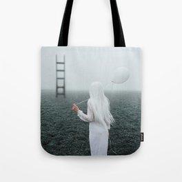 All white Tote Bag