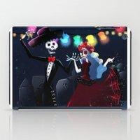 dia de los muertos iPad Cases featuring Dia de los muertos by Lenore2411