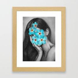40 Framed Art Print