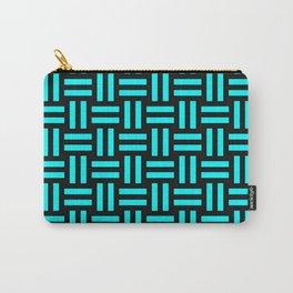 Equal Parts Aqua Carry-All Pouch