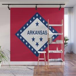 flag of arkansas-america,usa,The Natural State,Arkansan, Arkansawyer,Arkanite,Little Rock,Fort Smith Wall Mural
