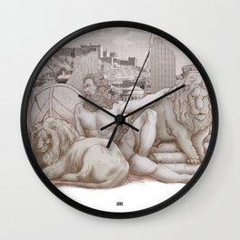 Hercvles Wall Clock