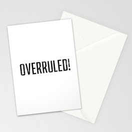 Overruled! Stationery Cards