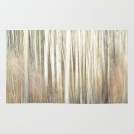 Abstract Aspens Rug