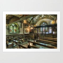 The Hidden Chapel Art Print