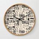 hand lettered food word pattern by staceywalkeroldham