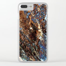 The Secret Lives of Trees III Clear iPhone Case