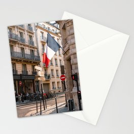 France Photography - Street In France Stationery Cards