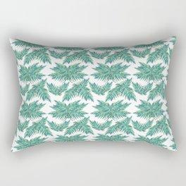 Djungel fever- retro palmtree Rectangular Pillow