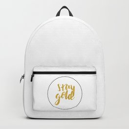 STAY GOLD Backpack