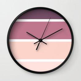 Mauve Mood Wall Clock