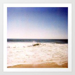 New York Summer at the Beach #2 Art Print