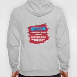 Support Rights LGBT Lesbian Gay Bisexual Transgender Gender Equality Gift Hoody