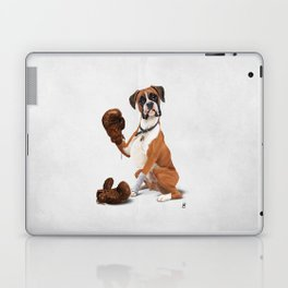 The Boxer (Wordless) Laptop & iPad Skin