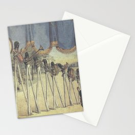 Neutral Milk Hotel – In the Aeroplane Over the Sea  - Back Cover Stationery Cards