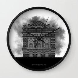 HexArchi - Portugal, Porto, Teatro Nacional São João Wall Clock