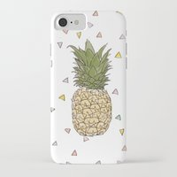 pinapple iPhone & iPod Cases featuring Pinapple by surfed