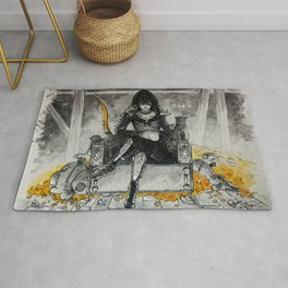Queen of Thieves Rug