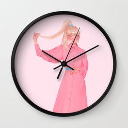 barbie Wall Clock