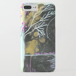 Moon Life iPhone Case