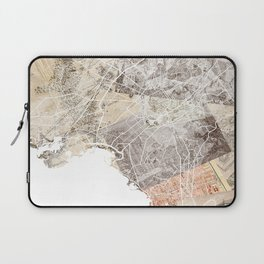 Athens map Laptop Sleeve
