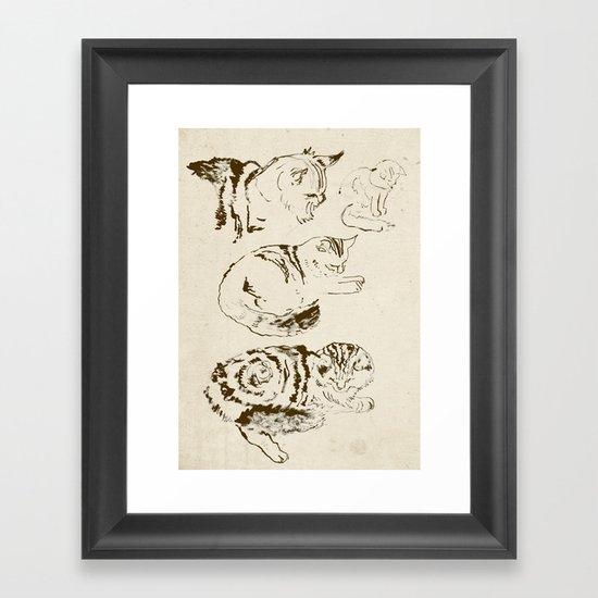 Harryhausen (full page version) Framed Art Print
