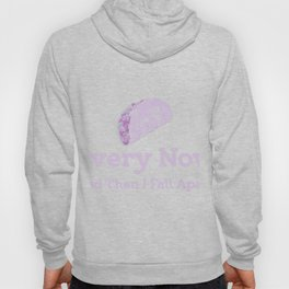 Every Now And Then I Fall Apart Purple Hoody