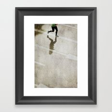 you are not alone... Framed Art Print