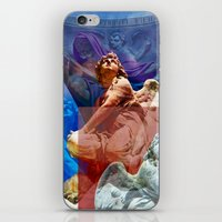 religious iPhone & iPod Skins featuring Religious Hymns of Angels by CAPTAINSILVA