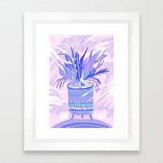 plant smell Framed Art Print