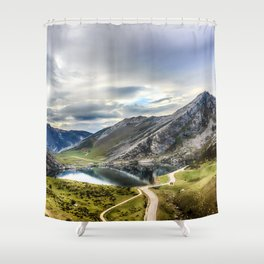 Enol, the Lakes of Covadonga Shower Curtain