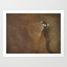 Sleeps With Stars 2 Art Print