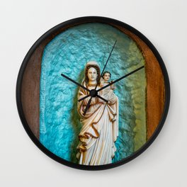 Madonna and Child Wall Clock