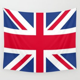 Union Jack 🇬🇧 Flag Of The United Kingdom ♚ Wall Tapestry