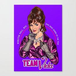 Team Vida Canvas Print