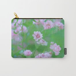 Tiny Pink Expressions Carry-All Pouch