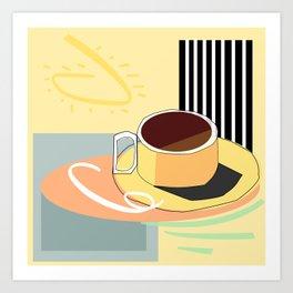 Breakfast I Art Print