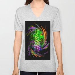 Flowermagic - Thimble Unisex V-Neck