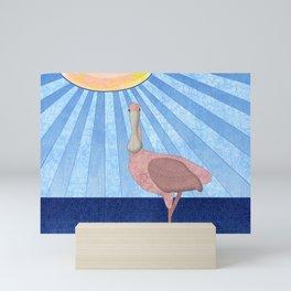 Roseate Spoonbill Mini Art Print
