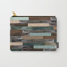 Wood in the Wall Carry-All Pouch
