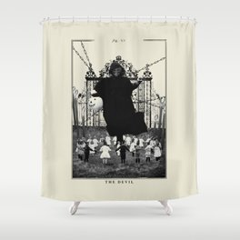 Fig. XV - The Devil Shower Curtain