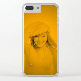 Hilary Duff - Celebrity Clear iPhone Case