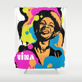 Soul Activism :: Nina Simone Shower Curtain