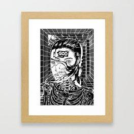 God Print  Framed Art Print