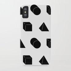 Shapes Pattern Slim Case iPhone X