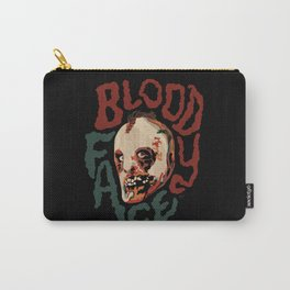 Bloody Face Carry-All Pouch