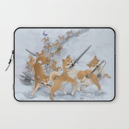 Cry Heckin' and Let Slip the Doges of War Laptop Sleeve