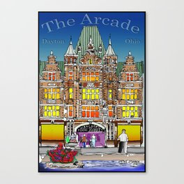 The Dayton Arcade Canvas Print